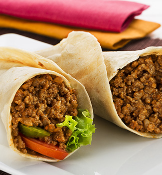 Frozen Fully  Cooked Minced Beef