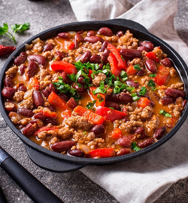 Fully Cooked  Chili con Carne